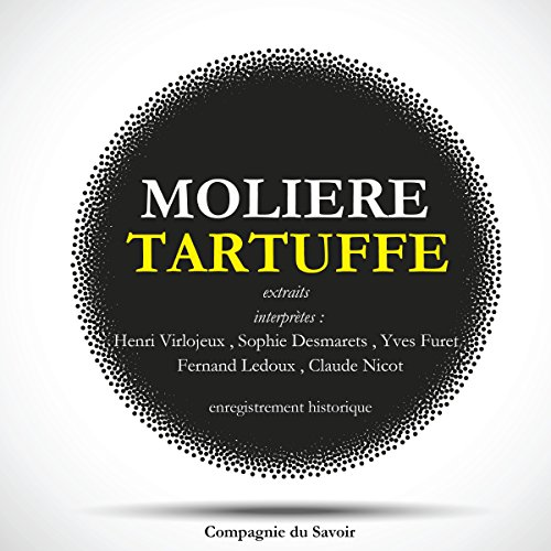 Tartuffe [French Version] audiobook cover art