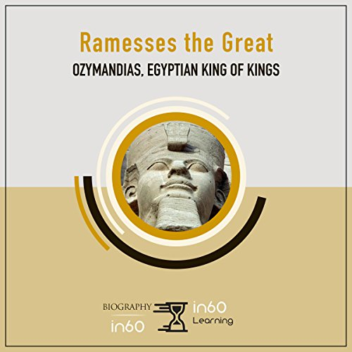 Ramesses the Great audiobook cover art