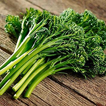 Potseed Samen Keimung: 50 - Seeds: Aspabroc F1 Hybrid Broccoli Seeds - Gourmet Treat Bekannt als Broccolini !!!!