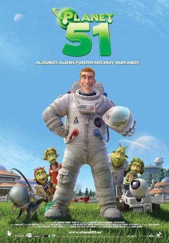Planet 51 POSTER Movie (2009) Spanish Style A 11 x 17 Inches - 28cm x 44cm (Dwayne Johnson)(Jessica Biel)(Justin Long)(Gary Oldman)(Seann William Scott)(John Cleese)(Freddie Benedict)