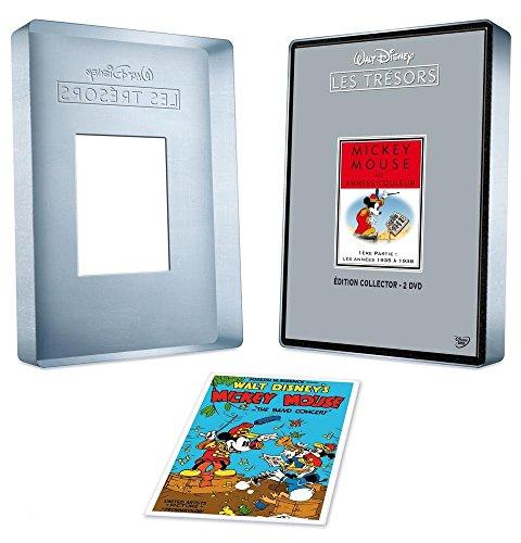 Les Trésors de Walt Disney : Mickey Mouse, Les Années couleurs (de 1935 à 1938) - Édition Collector 2 DVD [FR Import]