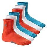 CFLEX 6 Paar LIFESTYLE - Unisex Short Crew Socks - Sportsocken mit Frotteesohle
