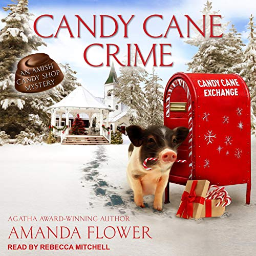 Candy Cane Crime Audiobook By Amanda Flower cover art