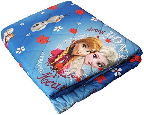 Hasbro TRAPUNTINO 100 gr Primavera Estate Letto Singolo Una Piazza Originale Disney Frozen cm 170 x 260 Microfibra