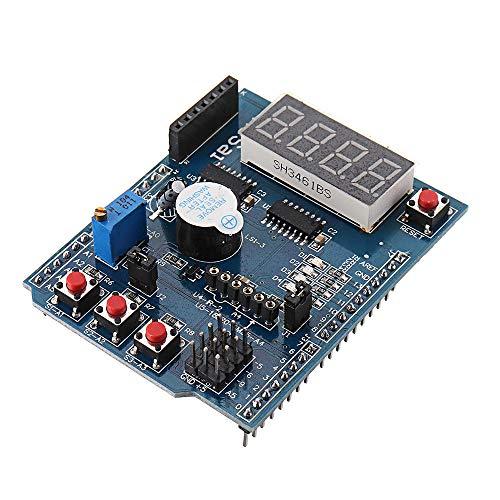 Modulo electronico Sensor de expansión multifuncional multifunción Module del escudo del sensor de la placa de expansión multifuncional para