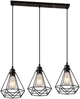 Moderne Amazon.fr : suspension bar lampe cuisine JU-37