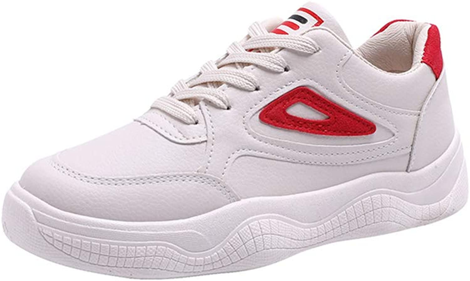 ProDIgal Women's Sports shoes - Casual Leather Lightweight Running shoes