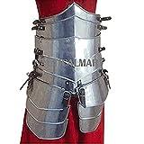 Traje de armadura medieval Sca para mujer con cinturón Tasset Wearable
