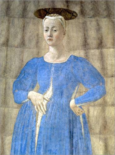 Lienzo 120 x 160 cm: The Madonna of Parto de Piero della Francesca / Bridgeman Images - cuadro terminado, cuadro sobre bastidor, lámina terminada sobre lienzo auténtico, impresión en lienzo