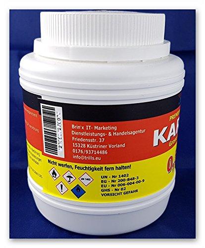 bri'X24T'you® Karbid 0.500KG+Handschuhe(1x) Premium KARBID (1A.Ql.Rg.187319)*Alt Bewährt und sehr Ergiebig (0.500KG) - 4