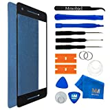 MMOBIEL Front Glass Replacement Compatible with Google Pixel 2 Series 5.0 Inch (Black) Display Touchscreen incl Tool Kit