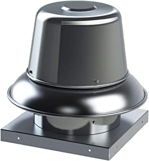 Soler & Palau S&P SDBD10PH1AS Direct Drive Downblast Centrifugal Roof Exhaust Fan