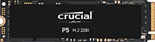 Crucial P5 250GB 3D NAND NVMe Internal SSD, up to 3400MB/s - CT250P5SSD8