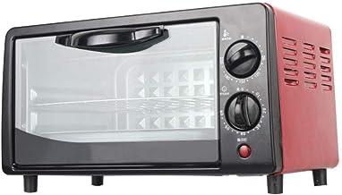 PLEASUR Mini Horno eléctrico, microondas Manual de 20 litros con perillas Dobles, Estufa Multifuncional para Hornear de 800 W para Funciones de Cocina y Parrilla, Cocina del hogar