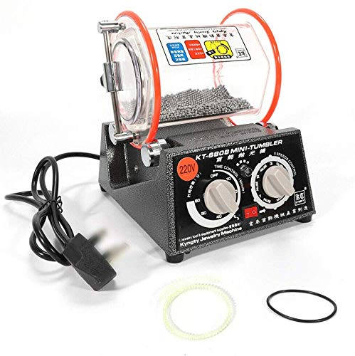 ROMYIX Pulidora giratoria Profesional joyería Mini