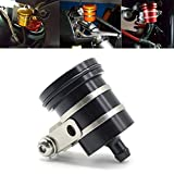 Motorcycle Aluminum Brake Clutch Fluid Reservoir Front or Rear Oil Cup For Yamaha YZF R1 R3 R6 R25 R15 R125 MT01 MT03 MT07 MT09 For Kawasaki Z650 Z750 Z900 Z1000 Ninja 650 250R650R ZX10R ZX6 ZX6R
