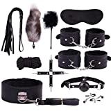Juego de felpa sexy toy suit wand massager special bundled set pu leather sm kit para pareja adulta 11pcs