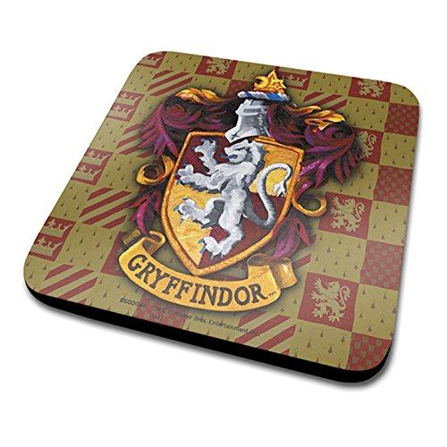 HARRY POTTER Posavasos, diseño del Escudo del Gryffindor