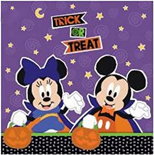 Disney Halloween Lunch Napkin Pack Of 12 One Size