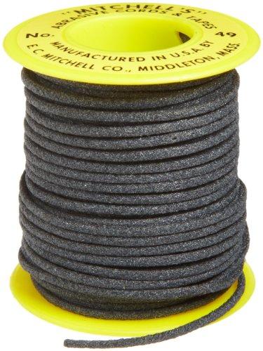 Mitchell Abrasives - 49A-25 49 Round Abrasive Cord, Aluminum Oxide 120 Grit .082' Diameter x 25 Feet