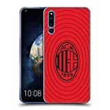 Official AC Milan Red And Black Art Soft Gel Case
