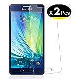 NEW'C Lot de 2, Verre Trempé pour Samsung Galaxy A5 2015 (SM-A500F) Film Protection écran - Anti...