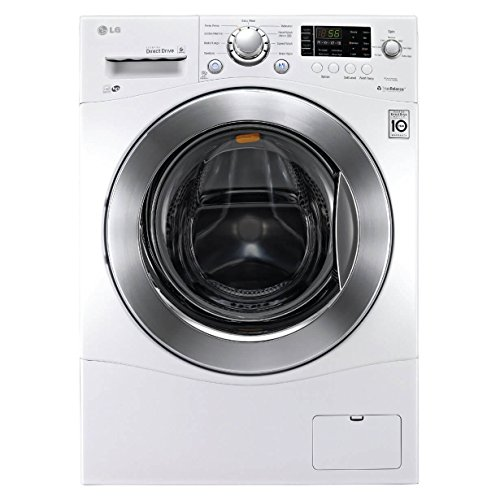 LG WM1388HW 2.3 Cu. Ft. White Stackable Front Load Washer