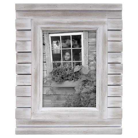 "5"" x 7"" Frame White Wash - Threshold™"