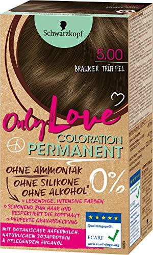 Schwarzkopf Only Love Coloration 5.00 Brauner Trüffel, 143 ml