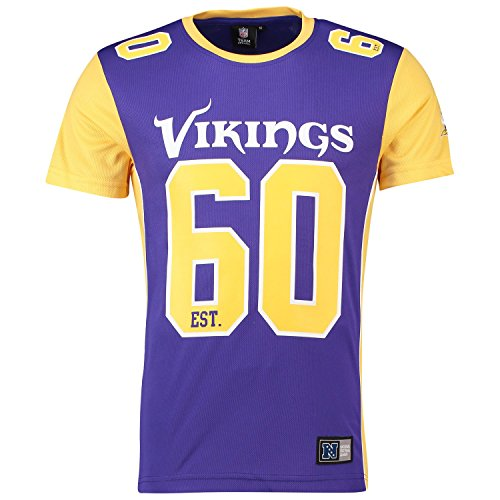 Majestic T-Shirt NFL Minnesota Vikings...