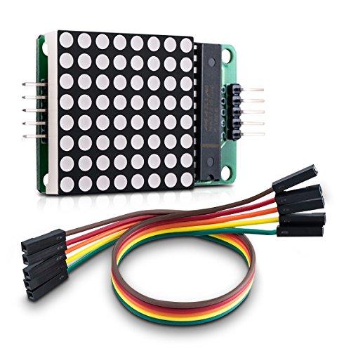 Amazon.co.uk - MAX7219 LED 8x8 Dot Matrix Display Module