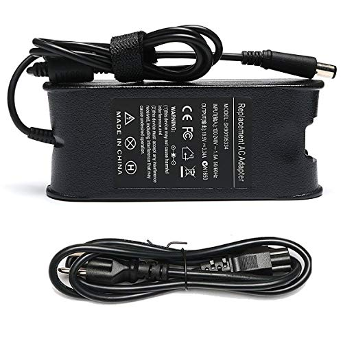 65W 19.5V 3.34A Laptop Charger for Dell inspiron N5110 N5010 N7110...