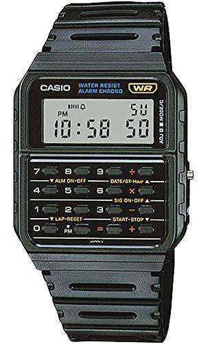 [カシオスタンダード] CASIO 腕時計 最新六角WRマーク 電卓機能付き カリキュレーターウォッチ CA-53W-1Z 海外モデル [並行輸入品]