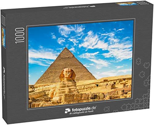 Puzzle 1000 Teile Die Sphinx und Pyramide ,Kairo,Ägypten - Klassische Puzzle, 1000/200/2000 Teile, in edler Motiv-Schachtel, Fotopuzzle-Kollektion 'Ägypten'