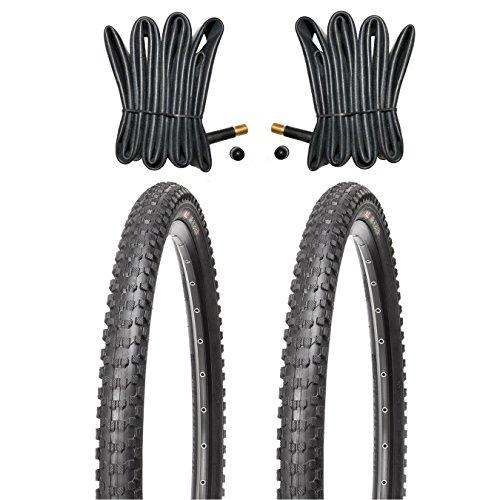 Kujo 2X 26x2.10 Reifen MTB Mr. Robsen inkl. 2X Schlauch mit Autoventilen