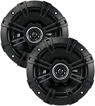 """2 Kicker 43DSC504 D-Series 5.25"""" 200W 2-Way 4-Ohm Car Audio Coaxial Speakers"""