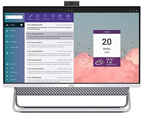 Dell Inspiron 5490 All in One 24' FHD Desktop, Intel i3-10110U up to 4.1GHz, 8GB DDR4, 1TB HDD, HDMI, Wi-Fi, Bluetooth, Webcam, Wired Keyboard &Mouse, TWE Mousepad, Windows 10