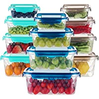 12-Piece Dusasa Plastic Storage Containers with Lids