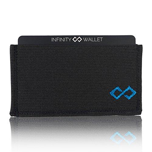 Infinity Wallet Men's Minimalist Wallet (Blue)