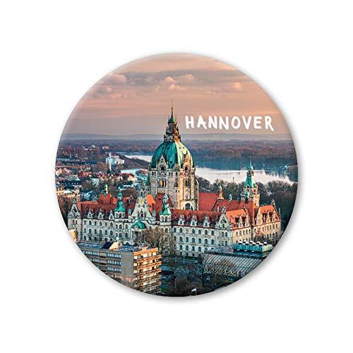 Pickmotion Design Magnete - rund 56mm - Hannover Rathaus