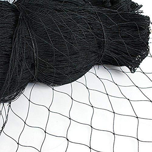 HICI Bird Net, Heavy Duty Plant Clamp Garden Net, Poultry Netting, Bird Pigeon Poultry Aviary Game Pens (2' X50'X50')
