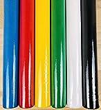 LAS TELAS ... Pack 3 Mtr. TNT Colores 5 Rollos 70 Grm + 1 Regalo, Tejido No Tejido, TST, Tejido Sin Tejer, Tejido para Ropa desechale médica. Ancho 0,80 Mtr. (Colores Surtido Básicos)