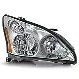 ACANII - For [Halogen Model] 2004-2009 Lexus RX330 RX350 RX400h Facory Style Headlight Headlamp Assembly Passenger Side