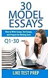 30 Model Essays Q1-30: 120 Model Essay 30 Day Pack 1: Volume 1