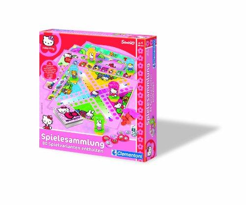 Clementoni 69745.8 – Hello Kitty – Jeux Classiques – 80 Jeu Variantes