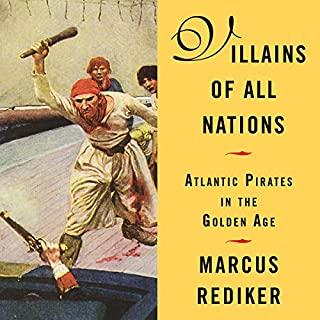 Villains of All Nations audiobook cover art