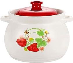WZWHJ Casserole Household Gas Simmering Casserole Soup Pot Flame Large Ceramic Pot Soup Pot Stew Stew Pot