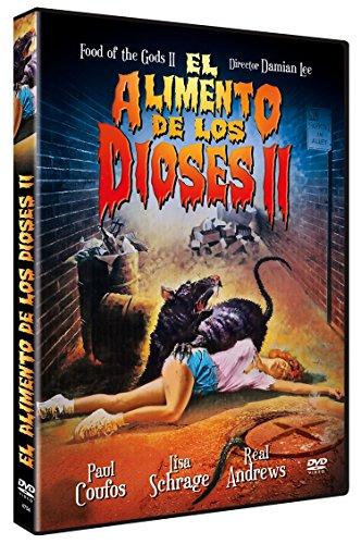 El Alimento de los Dioses II DVD 1989 Food of the Gods II