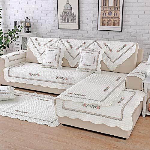 BASA Tuin meubelhoes, bank kussensloop, eenvoudige stofdichte bescherming meubels 70*150cm Kleur: wit