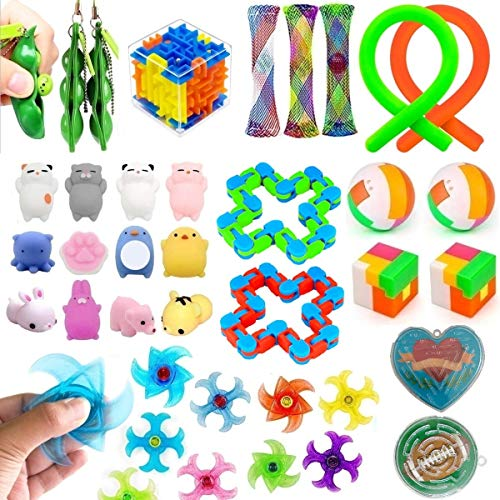 32 Pack Fidget Toys Set, Sensory Toys for Autistic Children and...